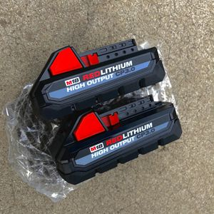 New Milwaukee M18 HIGH OUTPUT CP 3.0 Batteries for Sale in Modesto, CA