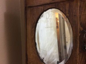 Antique bathroom wall mount cabinet for Sale in Wylie, TX