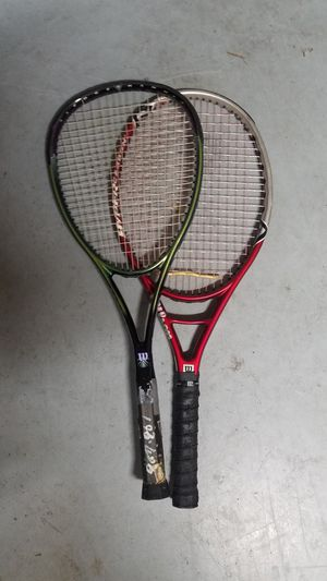 Wilson hammer tennis rackets for Sale in Issaquah, WA