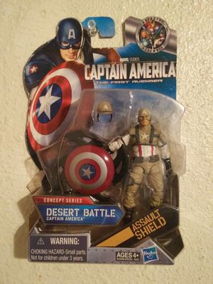 Desert Battle Captain America Action Figure for Sale in Fresno, CA