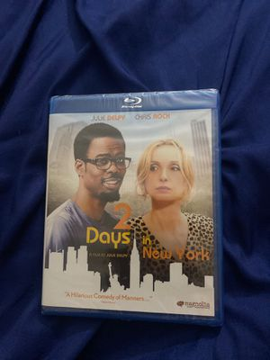 2 Days In NY Movie Blu-ray Disc New for Sale in Brooklyn, NY