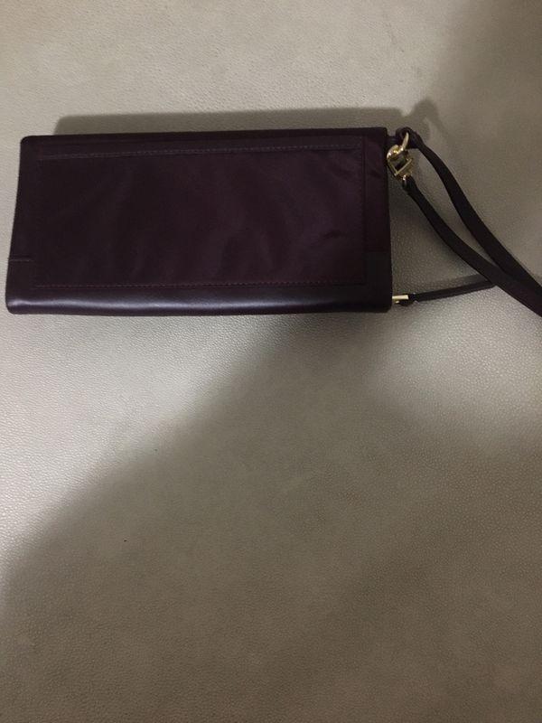TUMI wallet wristlet