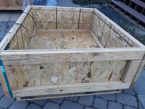 New 4 Foot Raised Garden Flower Bed - Ready to paint for Sale in Folsom, CA