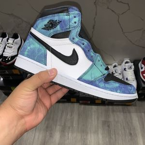 New Jordan 1 Tie Dyes size 10.5 Woman/ 9 Men for Sale in Moreno Valley, CA