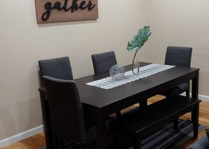 Ikea table and 4 chairs for Sale in Linden, NJ