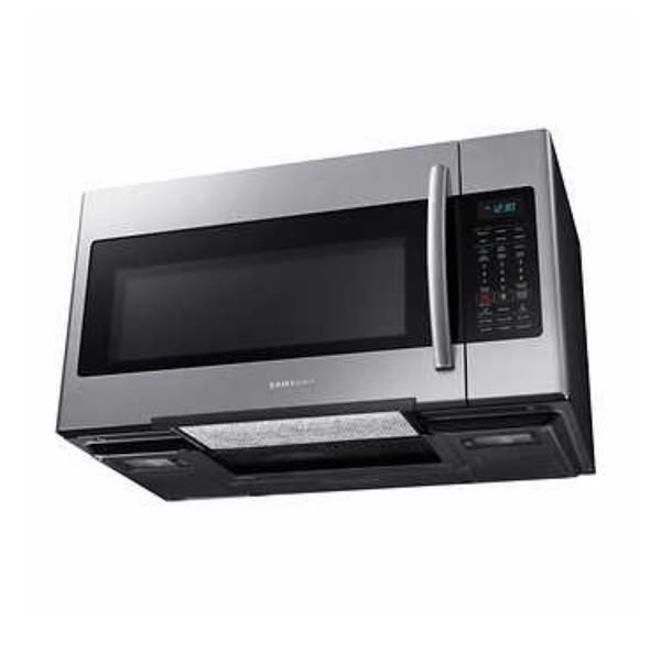 Samsung 1.8CuFt Over-the-Range Microwave with Multi-sensor Cooking in Stainless Steel