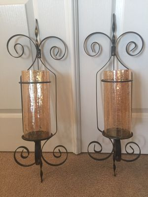 """26"""" high Two Wall Sconces. for Sale in Murrieta, CA"""
