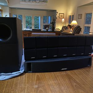 Bose Speakers And Sub Woofer for Sale in Virginia Beach, VA