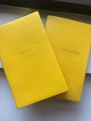 2 Brand New Smythson 'Panama' Notebooks for Sale in New York, NY