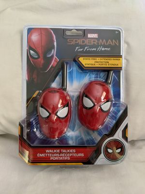 Spiderman Walkie Talkies Long Range for Sale in Roswell, GA