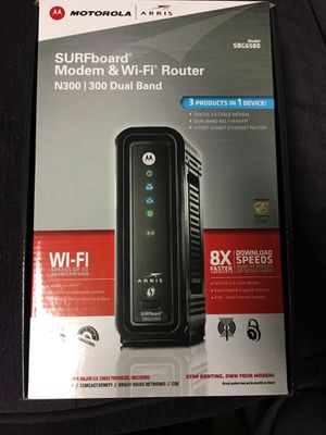 Dual Band Modem Router for Sale in Lincoln, NE