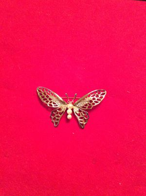 1950 vintage large butterfly brooch for Sale in Washington, DC