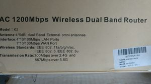 1200 mbps dual band router NEW IN BOX for Sale in Wilpen, PA