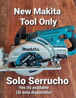 MAKITA XSR01Z 18+18 VOLT 36 VOLT LXT BRUSHLESS CORDLESS CIRCULAR SAW TOOL ONLY for Sale in Downey,  CA