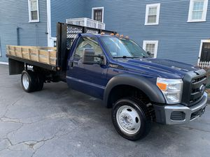 2012 SUPER DUTY F-450 FLAT BED for Sale in Salem, MA