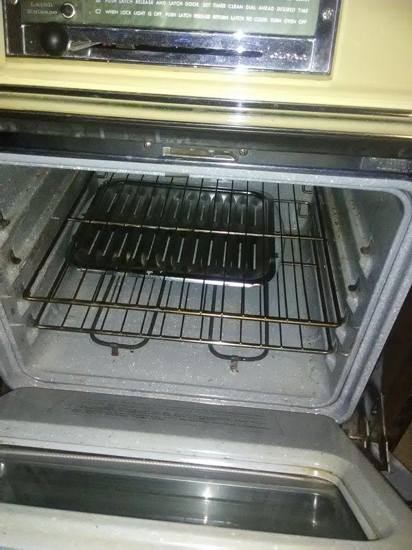 1970s slide in stove free