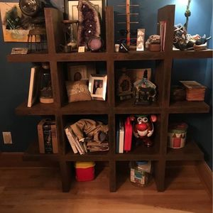 Industrial/rustic/modern Metal Shelving Unit for Sale in Columbus, OH