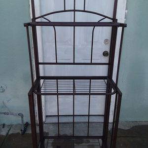 Bakers Rack Brown for Sale in South El Monte, CA