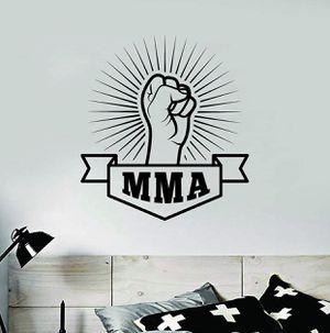 PRE MADE Wall Decal Home Decor MMA Box Jiu Jitsu Muay Thai Box Fight Gym for Sale in Long Beach, CA