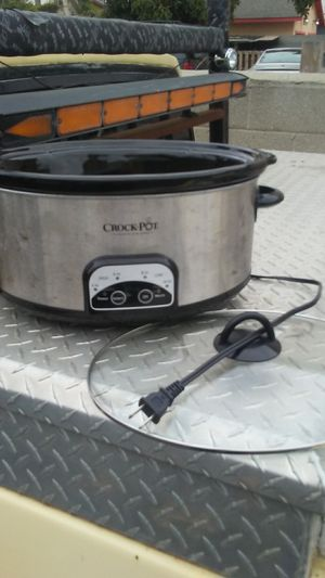 An original Crock-Pot excellent working condition only $15 110 volt for Sale in Los Angeles, CA