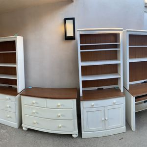 Ethan Allen Dressers, Bookshelves, and Desk for Sale in San Diego, CA