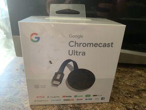 Google chromecast ultra for Sale in Glendale, AZ