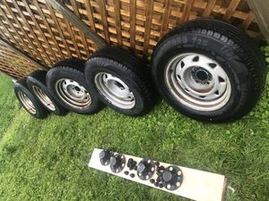 2003 Chevy S 10 wheels and tires for Sale in Washington, DC