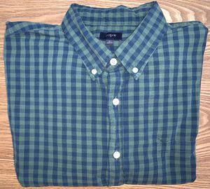 J Crew Men's Plaid Button Down Dress Shirt XLarge for Sale in Grand Rapids, MI