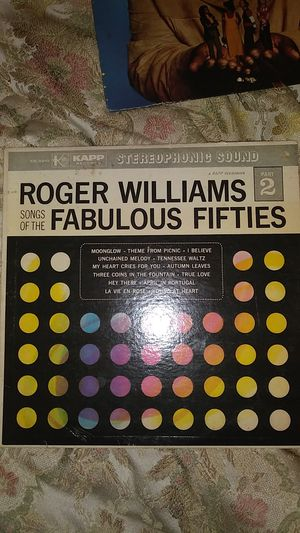 Roger Williams Songs of the Fabulous for Sale in Burlington, NJ