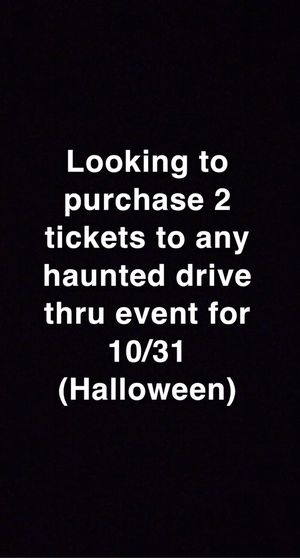 Haunted Halloween Drive thru for Sale in Santa Ana, CA