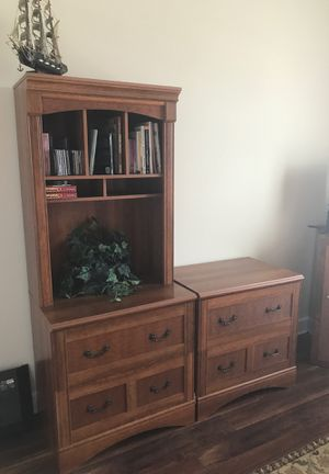 Office furniture lateral filing cabinet for Sale in Howey-in-the-Hills, FL