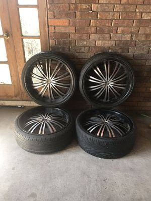 Tires & rims for Sale in Houston, TX