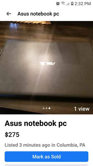 Asus notebook pc for Sale in Columbia, PA