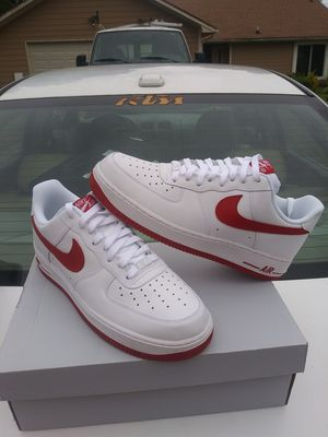 $130 local pick up Size 11 only Nike Air Force 1 Rucker Park Max 90 95 97 ID Air Jordan 1 3 4 5 6 7 8 9 10 11 12 13 White Black Fire Red Cement SE for Sale in Norcross, GA