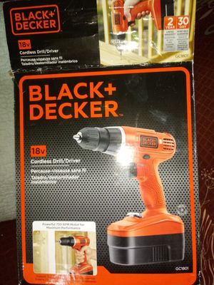 Black & Decker 18V cordless drill. New in box. for Sale in Kentwood, MI