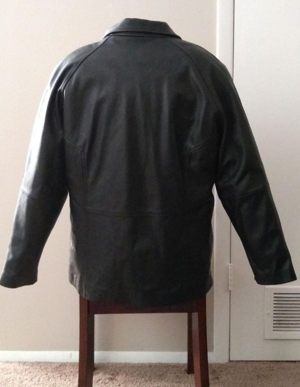 Vintage 1988 Wilson's Leather Thinsulate Jacket with removable Insulated vest. Size 2X.