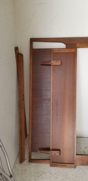 FREE - Bedframes, Lamp, Full size wood bedframe for Sale in Woodbridge, VA