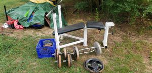 Weight bench and weights for Sale in Calvert City, KY