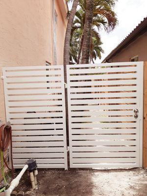 Cercas y portones con los mejores precios.. for Sale in Miami, FL