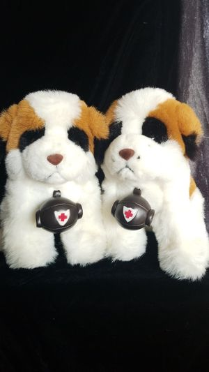 Plush Stuffed Animals - TWO St. Bernards for Sale in Chino Hills, CA