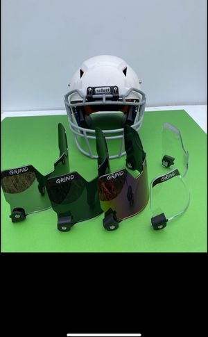Top Quality Football Visors: New in box: 4 colors: for Sale in Wichita, KS