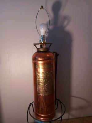 🔥Vintage fire extinguishe lamp 🔥 for Sale in Altadena, CA