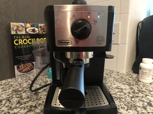 DeLonghi Espresso Machine - never used for Sale in Hollywood, FL