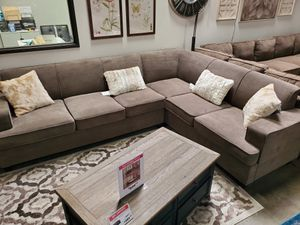 Sleeper Sectional Sofa, Charcoal for Sale in Santa Fe Springs, CA