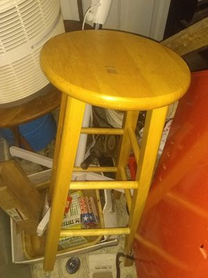 Bar stool,no padded top,unused.can use for exercise,or as seat. for Sale in Roseville, MI