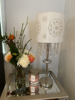 Lamp with Crystals Set of 2 for Sale in Pomona, CA