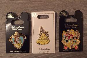 5 Disney Princess Tradable Pins for Sale in Orlando, FL