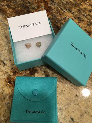 Tiffany & Co. Mini Heart Tag Earrings for Sale in Washington, DC