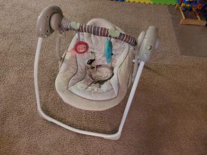 Ingenuity Cozy Kingdom Portable Swing for Sale in San Marcos, TX