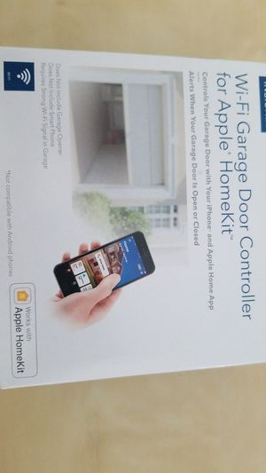 Wifi garage door controller for Apple Homekit and iPhone for Sale in Glendale, CA